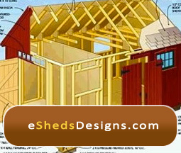 shed designs storage shed plans